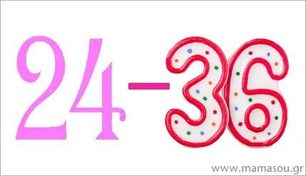 Ανάπτυξη νηπίου 24 έως 36 μηνών