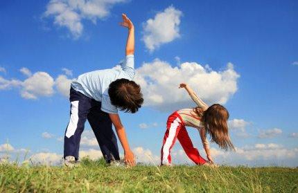 δραστηριότητες για υγιή παιδιά