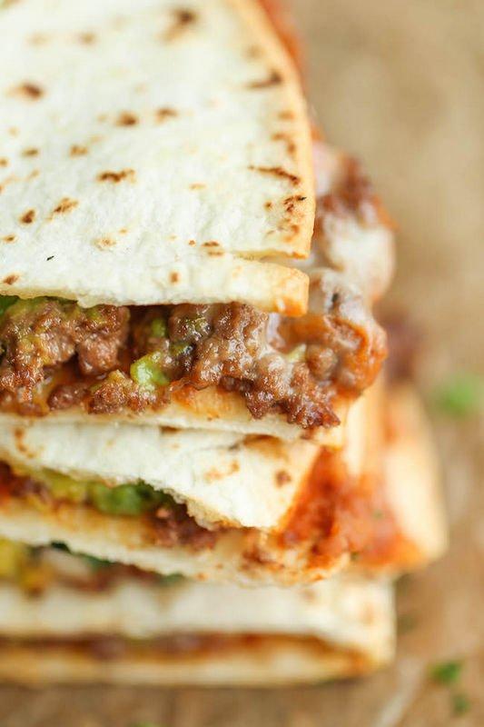 Quesadillas η απόλυτη μεξικάνικη