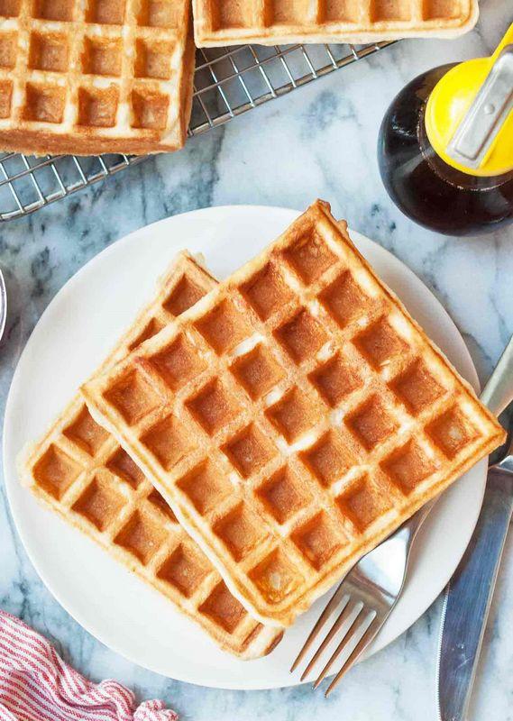 Aλμυρές Waffles
