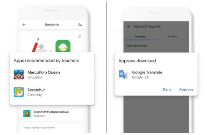 Google Family Link - Περιορισμοί χρήσης εφαρμογών