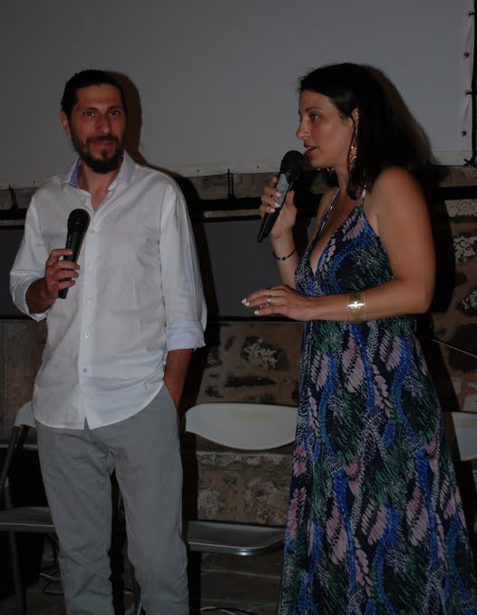 Aυλαία για το 1ο Διεθνές Φεστιβάλ Κινηματογράφου Κιμώλου