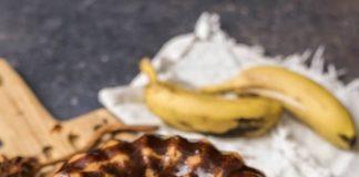 cake Μπανάνας με ελαιόλαδο και γιαούρτι