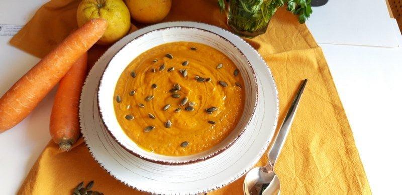 Σούπα καρότου βελουτέ