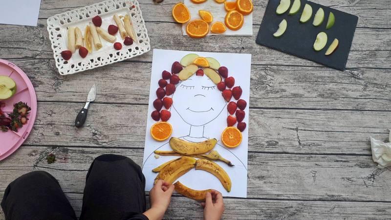 Πορτρέτο από φρούτα