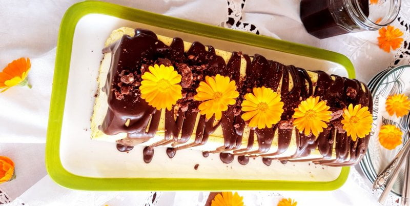 Κορμός μπανάνα με σοκολάτα