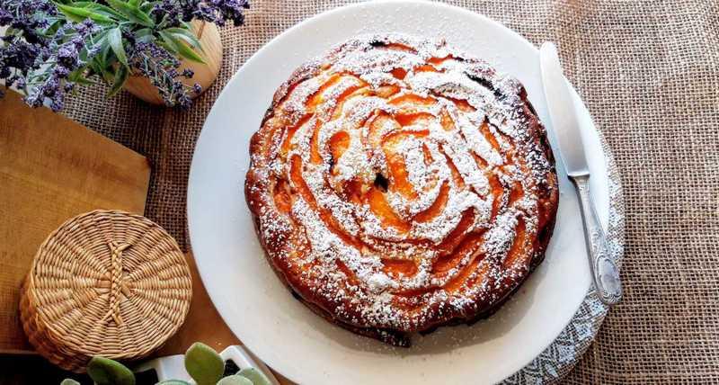 κέικ βερίκοκο