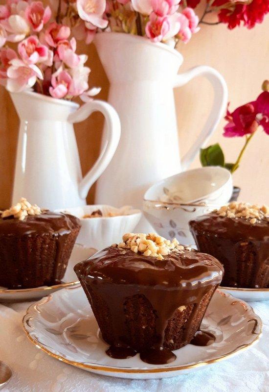 Cupcakes σοκολάτας
