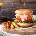 Burger με κοτόπουλο